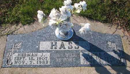 HASS, EMMA C. - Cuming County, Nebraska | EMMA C. HASS - Nebraska Gravestone Photos