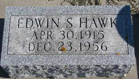 HAWK, EDWIN S. - Cuming County, Nebraska   EDWIN S. HAWK - Nebraska Gravestone Photos