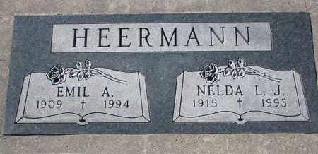 HEERMANN, NELDA L.J. - Cuming County, Nebraska   NELDA L.J. HEERMANN - Nebraska Gravestone Photos