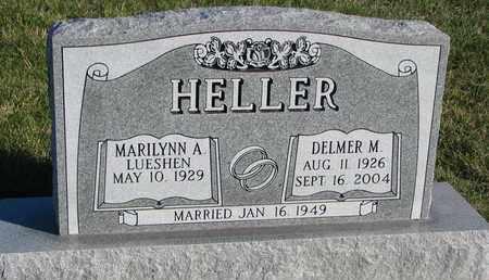 HELLER, MARILYNN A. - Cuming County, Nebraska | MARILYNN A. HELLER - Nebraska Gravestone Photos