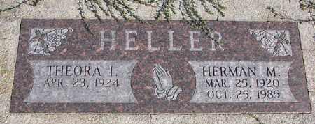 HELLER, THEORA I. - Cuming County, Nebraska   THEORA I. HELLER - Nebraska Gravestone Photos