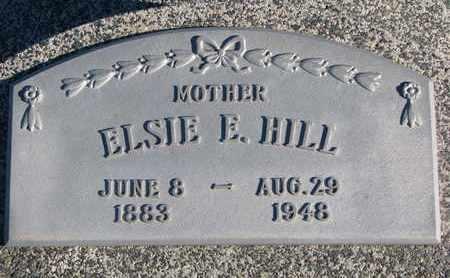 HILL, ELSIE E. - Cuming County, Nebraska | ELSIE E. HILL - Nebraska Gravestone Photos