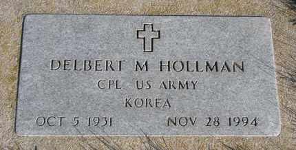 HOLLMAN, DELBERT M. - Cuming County, Nebraska | DELBERT M. HOLLMAN - Nebraska Gravestone Photos