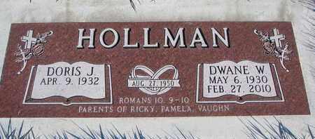 HOLLMAN, DWANE W. - Cuming County, Nebraska | DWANE W. HOLLMAN - Nebraska Gravestone Photos