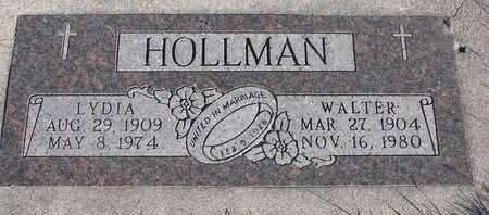 HOLLMAN, WALTER - Cuming County, Nebraska   WALTER HOLLMAN - Nebraska Gravestone Photos