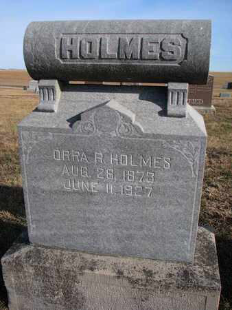 HOLMES, ORRA R. - Cuming County, Nebraska | ORRA R. HOLMES - Nebraska Gravestone Photos