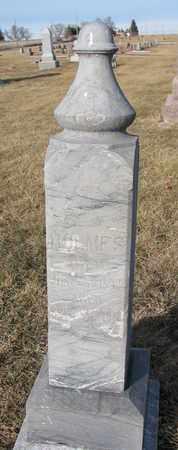 HOLMES, S.A. - Cuming County, Nebraska   S.A. HOLMES - Nebraska Gravestone Photos