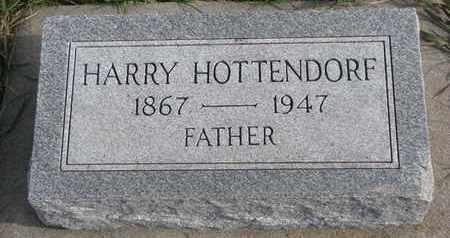 HOTTENDORF, HARRY - Cuming County, Nebraska   HARRY HOTTENDORF - Nebraska Gravestone Photos