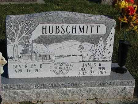 HUBSCHMITT, JAMES R. - Cuming County, Nebraska | JAMES R. HUBSCHMITT - Nebraska Gravestone Photos