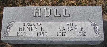 HULL, HENRY E. - Cuming County, Nebraska | HENRY E. HULL - Nebraska Gravestone Photos