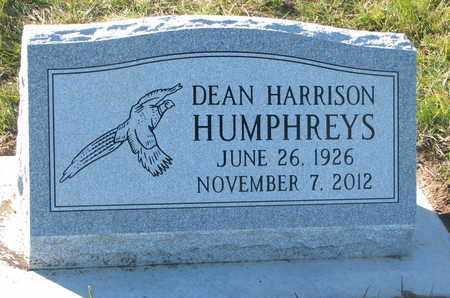 HUMPHREYS, DEAN HARRISON - Cuming County, Nebraska   DEAN HARRISON HUMPHREYS - Nebraska Gravestone Photos