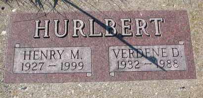 HURLBERT, HENRY M. - Cuming County, Nebraska | HENRY M. HURLBERT - Nebraska Gravestone Photos