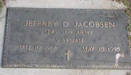 JACOBSEN, JEFFREY D. - Cuming County, Nebraska | JEFFREY D. JACOBSEN - Nebraska Gravestone Photos