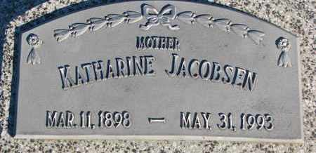 JACOBSEN, KATHARINE - Cuming County, Nebraska | KATHARINE JACOBSEN - Nebraska Gravestone Photos