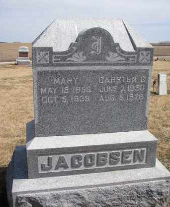 JACOBSEN, MARY - Cuming County, Nebraska | MARY JACOBSEN - Nebraska Gravestone Photos