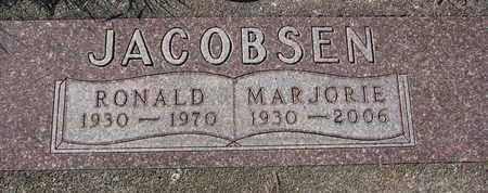 JACOBSEN, MARJORIE - Cuming County, Nebraska | MARJORIE JACOBSEN - Nebraska Gravestone Photos