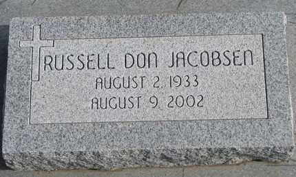 JACOBSEN, RUSSELL DON - Cuming County, Nebraska | RUSSELL DON JACOBSEN - Nebraska Gravestone Photos