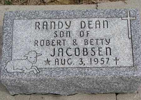 JACOBSEN, RANDY DEAN - Cuming County, Nebraska | RANDY DEAN JACOBSEN - Nebraska Gravestone Photos