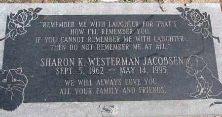 JACOBSEN, SHARON K. - Cuming County, Nebraska | SHARON K. JACOBSEN - Nebraska Gravestone Photos