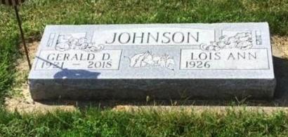 JOHNSON, LOIS ANN - Cuming County, Nebraska | LOIS ANN JOHNSON - Nebraska Gravestone Photos