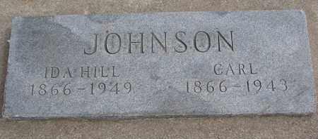 HILL JOHNSON, IDA - Cuming County, Nebraska   IDA HILL JOHNSON - Nebraska Gravestone Photos