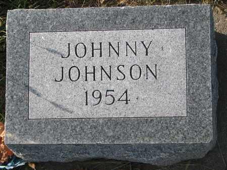 JOHNSON, JOHNNY - Cuming County, Nebraska | JOHNNY JOHNSON - Nebraska Gravestone Photos