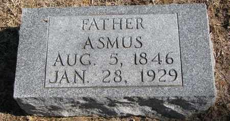 JURGENSEN, ASMUS - Cuming County, Nebraska | ASMUS JURGENSEN - Nebraska Gravestone Photos