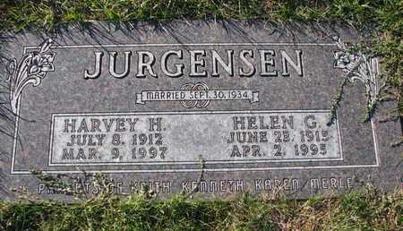 JURGENSEN, HARVEY H. - Cuming County, Nebraska | HARVEY H. JURGENSEN - Nebraska Gravestone Photos