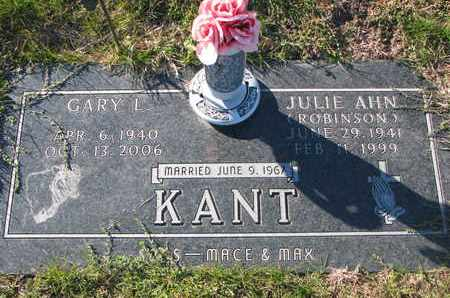KANT, GARY L. - Cuming County, Nebraska | GARY L. KANT - Nebraska Gravestone Photos