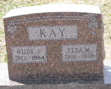 KAY, RUDY J. - Cuming County, Nebraska | RUDY J. KAY - Nebraska Gravestone Photos