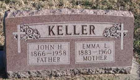 KELLER, EMMA L. - Cuming County, Nebraska   EMMA L. KELLER - Nebraska Gravestone Photos