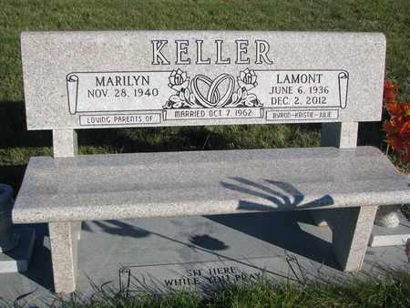 KELLER, MARILYN - Cuming County, Nebraska | MARILYN KELLER - Nebraska Gravestone Photos