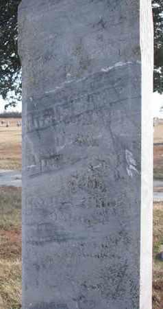KELLY, S.S. (CLOSEUP) - Cuming County, Nebraska | S.S. (CLOSEUP) KELLY - Nebraska Gravestone Photos