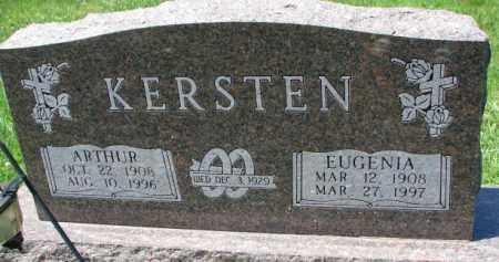 KERSTEN, EUGENIA - Cuming County, Nebraska | EUGENIA KERSTEN - Nebraska Gravestone Photos