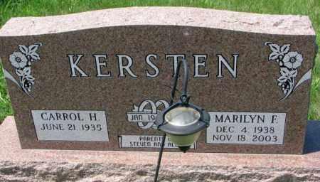 KERSTEN, MARILYN F. - Cuming County, Nebraska | MARILYN F. KERSTEN - Nebraska Gravestone Photos