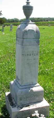 KERSTEN, HEINRICH K.L. - Cuming County, Nebraska | HEINRICH K.L. KERSTEN - Nebraska Gravestone Photos