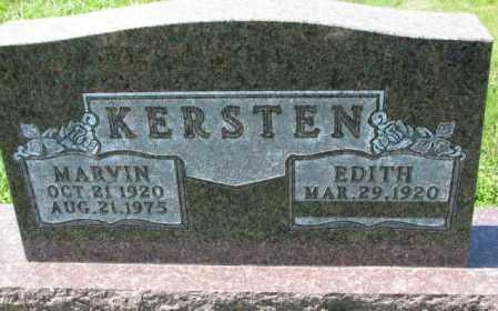 KERSTEN, MARVIN - Cuming County, Nebraska   MARVIN KERSTEN - Nebraska Gravestone Photos