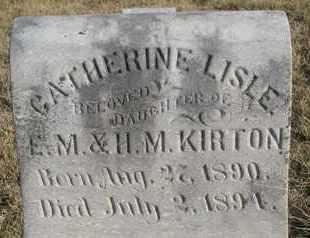 KIRTON, CATHERINE L (CLOSEUP) - Cuming County, Nebraska   CATHERINE L (CLOSEUP) KIRTON - Nebraska Gravestone Photos