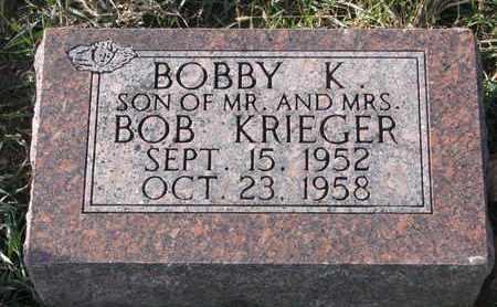 KRIEGER, BOBBY K. - Cuming County, Nebraska   BOBBY K. KRIEGER - Nebraska Gravestone Photos