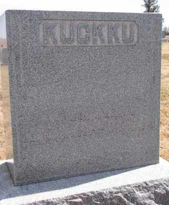 KUCKKU, MATILDA - Cuming County, Nebraska | MATILDA KUCKKU - Nebraska Gravestone Photos