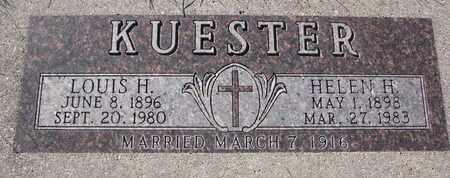 KUESTER, LOUIS H. - Cuming County, Nebraska   LOUIS H. KUESTER - Nebraska Gravestone Photos