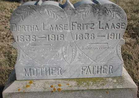 LAASE, FRITZ - Cuming County, Nebraska | FRITZ LAASE - Nebraska Gravestone Photos