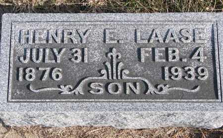 LAASE, HENRY E. - Cuming County, Nebraska   HENRY E. LAASE - Nebraska Gravestone Photos