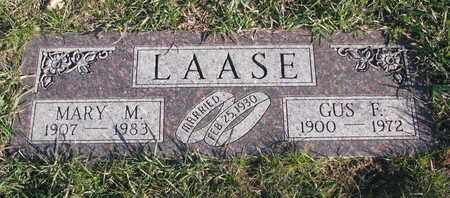 LAASE, GUS F. - Cuming County, Nebraska   GUS F. LAASE - Nebraska Gravestone Photos