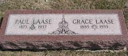 LAASE, PAUL - Cuming County, Nebraska   PAUL LAASE - Nebraska Gravestone Photos