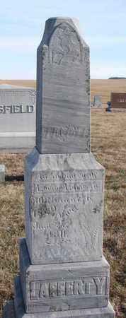 LAFFERTY, LOVINA - Cuming County, Nebraska | LOVINA LAFFERTY - Nebraska Gravestone Photos