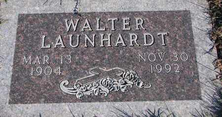 LAUNHARDT, WALTER - Cuming County, Nebraska | WALTER LAUNHARDT - Nebraska Gravestone Photos