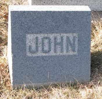 LUCAS, JOHN (FOOTSTONE) - Cuming County, Nebraska | JOHN (FOOTSTONE) LUCAS - Nebraska Gravestone Photos