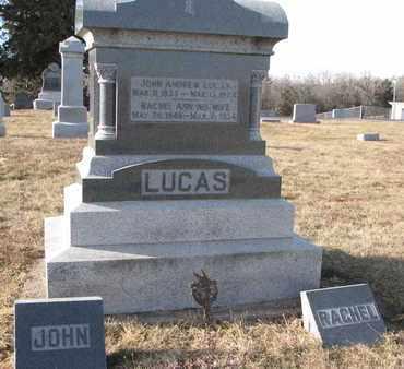 LUCAS, RACHEL ANN - Cuming County, Nebraska | RACHEL ANN LUCAS - Nebraska Gravestone Photos