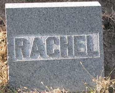 LUCAS, RACHEL (FOOTSTONE) - Cuming County, Nebraska   RACHEL (FOOTSTONE) LUCAS - Nebraska Gravestone Photos